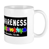 Aut Aware (Puzzle row) Dk Mug