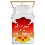 Firefighter Aunt Twin Duvet