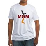 OYOOS Soccer Mom design Fitted T-Shirt