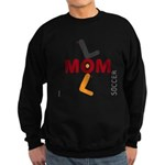 OYOOS Soccer Mom design Sweatshirt (dark)