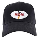 OYOOS Soccer Mom design Black Cap