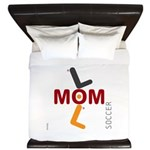 OYOOS Soccer Mom design King Duvet