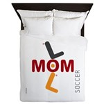 OYOOS Soccer Mom design Queen Duvet