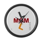 OYOOS Soccer Mom design Large Wall Clock