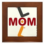 OYOOS Soccer Mom design Framed Tile