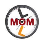 OYOOS Soccer Mom design Wall Clock