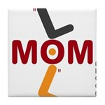 OYOOS Soccer Mom design Tile Coaster