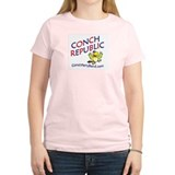 Conch Republic (Party Band) Women's Pink T-Shirt