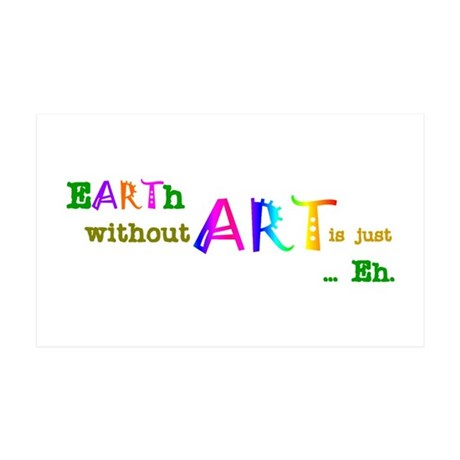 Earth Without Art Decal Wall Sticker