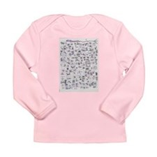 Cute Women v neck Long Sleeve Infant T-Shirt