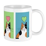 CALICO CAT Coffee, Tea, or Cocoa Mug, Multi-Color