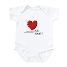 Love Dads Infant Bodysuit