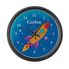 Cute Corbin Large Wall Clock