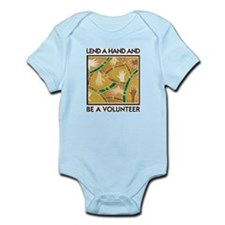 Lend a Hand and Be a Volunteer Infant Creeper