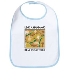 Lend a Hand and Be a Volunteer Bib
