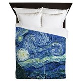 Van Gogh Starry Night Queen Duvet