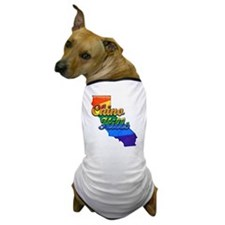 Chino Hills, California. Gay Pride Dog T-Shirt