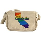 Christie, California. Gay Pride Messenger Bag