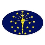 Indiana Sticker (Oval 10 pk)