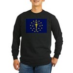 Indiana Long Sleeve Dark T-Shirt