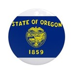 Oregon Ornament (Round)