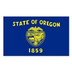 Oregon Sticker (Rectangle 10 pk)