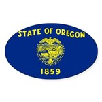Oregon Sticker (Oval 10 pk)