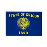 Oregon Rectangle Magnet (10 pack)