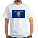 Oregon White T-Shirt