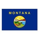 Montana Sticker (Rectangle 10 pk)