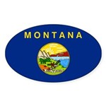 Montana Sticker (Oval 10 pk)