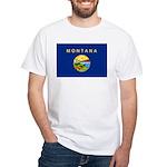 Montana White T-Shirt