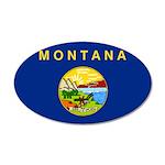 Montana 38.5 x 24.5 Oval Wall Peel