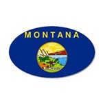 Montana 22x14 Oval Wall Peel