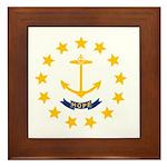 Rhode Island Framed Tile