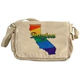 Dayton, California. Gay Pride Messenger Bag