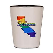 Delano, California. Gay Pride Shot Glass