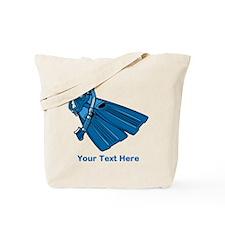 Diving Snorkel etc. And Text. Tote Bag
