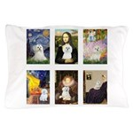 Maltese Famous Art (clr) Pillow Case