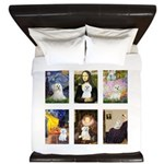 Maltese Famous Art (clr) King Duvet