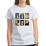 Maltese Famous Art (clr) Women's T-Shirt