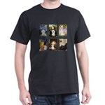 Maltese Famous Art (clr) Dark T-Shirt