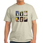 Maltese Famous Art (clr) Light T-Shirt
