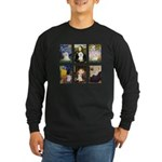 Maltese Famous Art (clr) Long Sleeve Dark T-Shirt