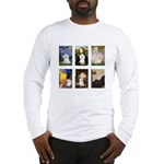 Maltese Famous Art (clr) Long Sleeve T-Shirt