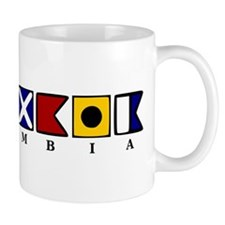 Nautical Colombia Mug
