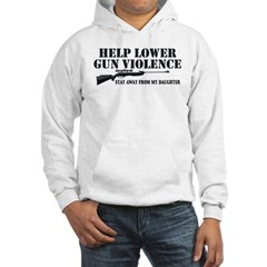 Dad's Gun Violence Hooded Sweatshirt