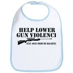 Dad's Gun Violence Bib