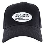 Dad's Gun Violence Black Cap