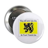 "Proud Flemish Lion 2.25"" Button (10 pack)"